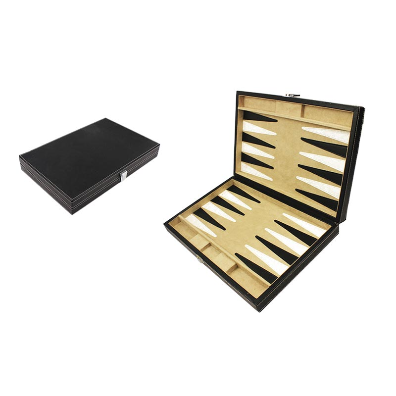 Luxury Handmade 15 / 21 Checkers Wooden Backgammon Set for Sale