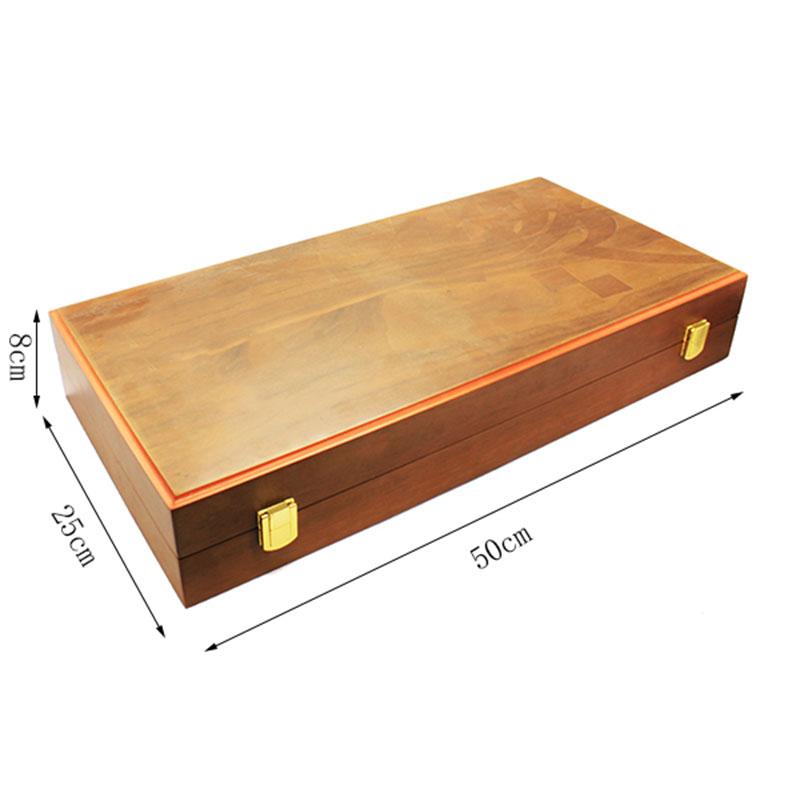 Custom Antique Backgammon Gift Set Made in China