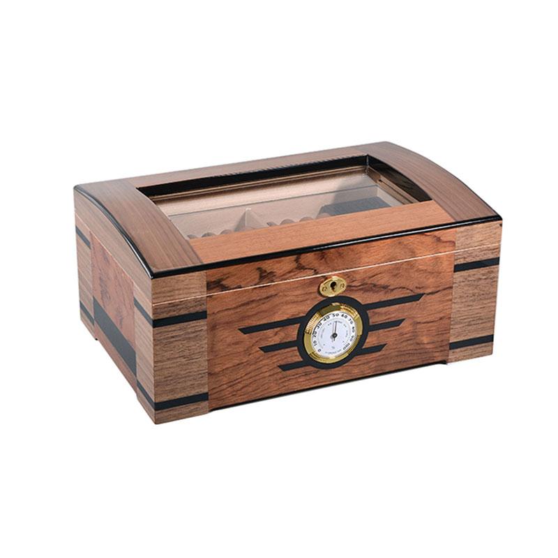 التخصيص مربع السيجار الخشبي اليدوية للبيع