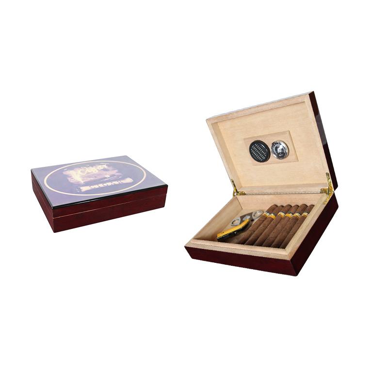 Wholesale Simple Style Spanish Cedar Wood Cabinet Cigar Humidor