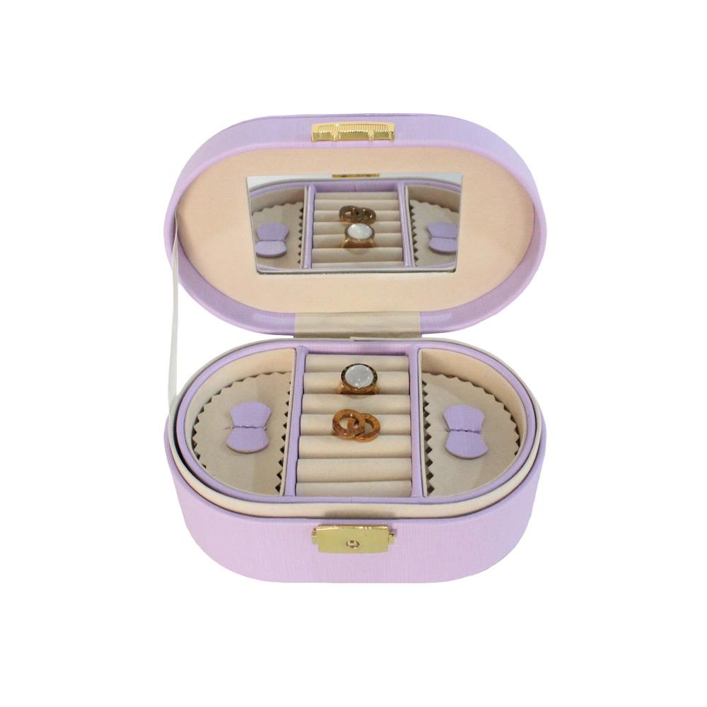 Trade Assurance OEM PU Leather Jewelry Box Dongguan With Lock
