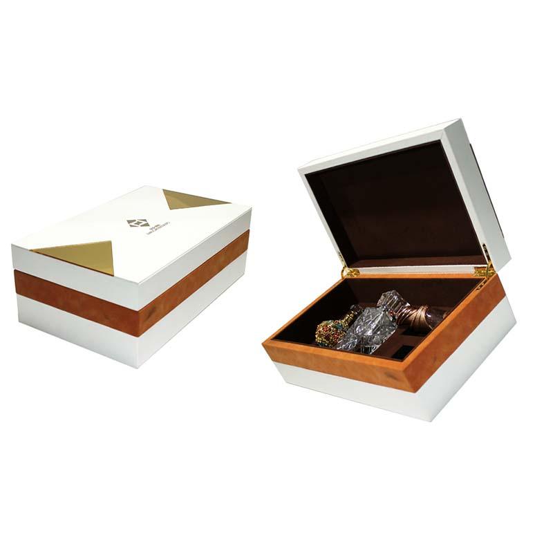 Cheap Custom Unique Fashion Arabic Wooden Perfume Box for Sale